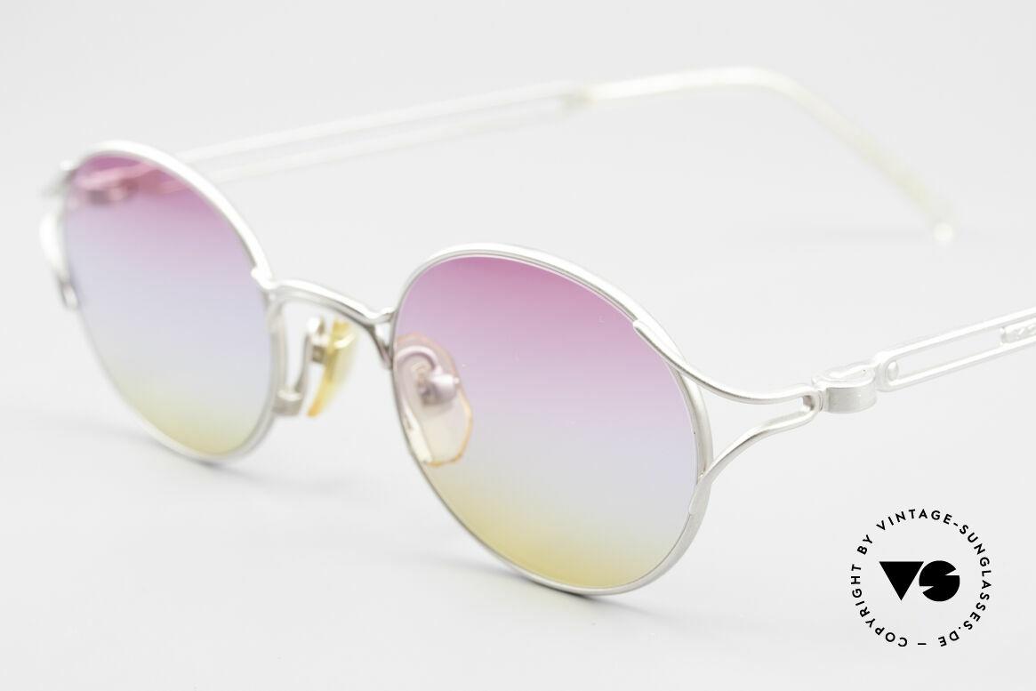 Yohji Yamamoto 51-4103 Panto Designer Sunglasses, unused (like all our Haute Couture designer sunglasses), Made for Men and Women