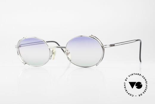 Yohji Yamamoto 52-4107 Oval Designer Sunglasses 90's Details