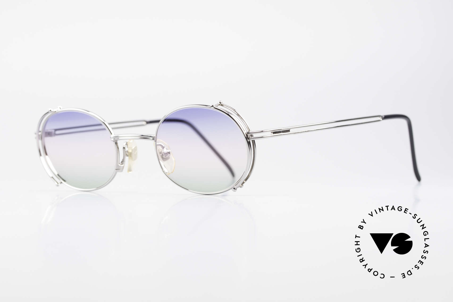 "Yohji Yamamoto 52-4107 Oval Designer Sunglasses 90's, a vintage ""must-have"" for all lovers of quality and design, Made for Men and Women"