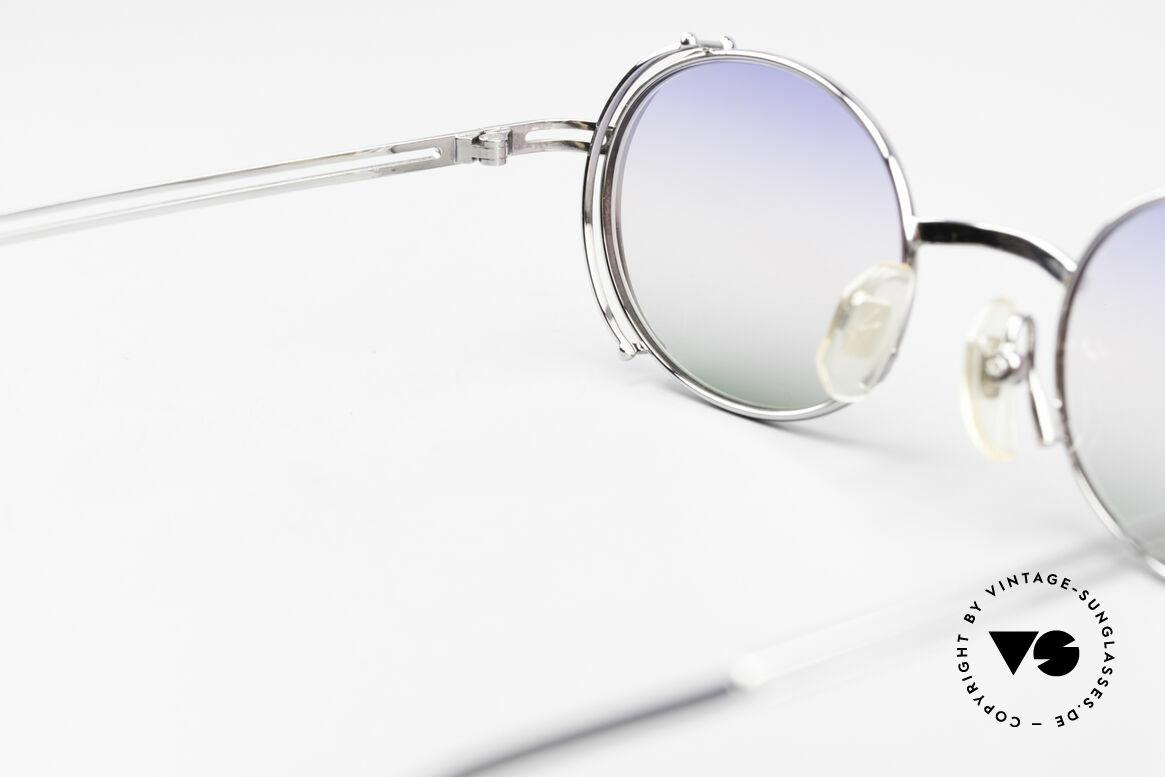 Yohji Yamamoto 52-4107 Oval Designer Sunglasses 90's