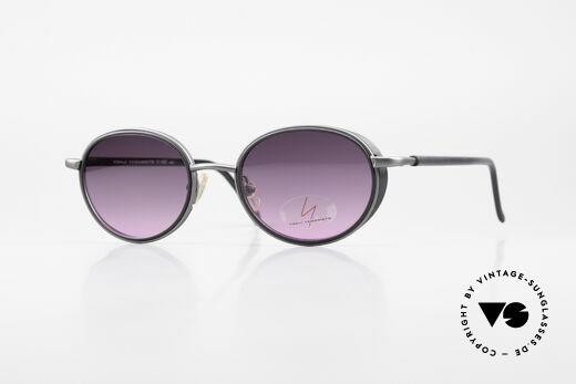 Yohji Yamamoto 51-6201 Side Shields Sunglasses 90's Details