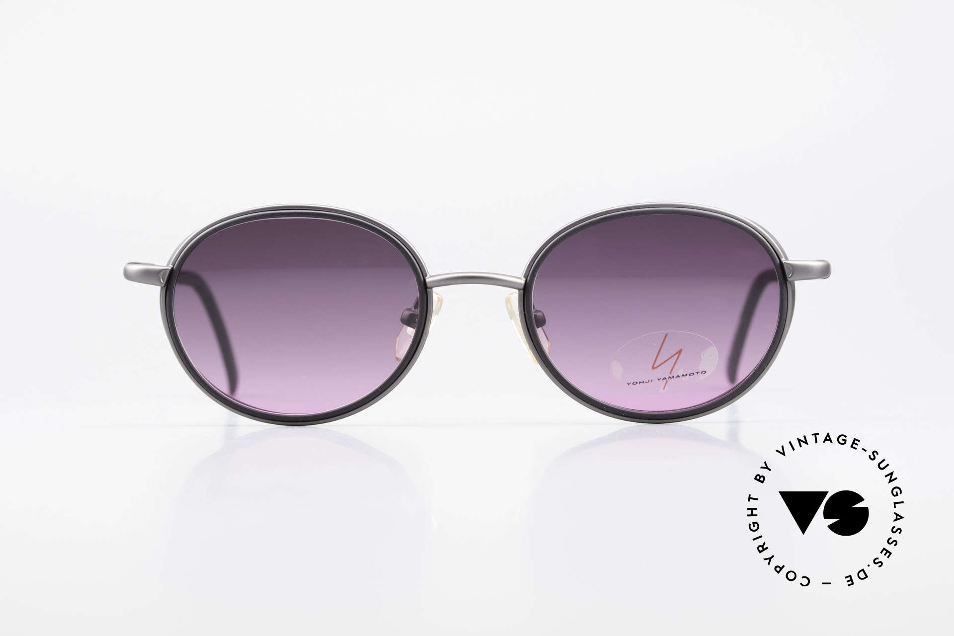 Yohji Yamamoto 51-6201 Side Shields Sunglasses 90's, 1st class craftsmanship and materials (lightweight titan), Made for Women