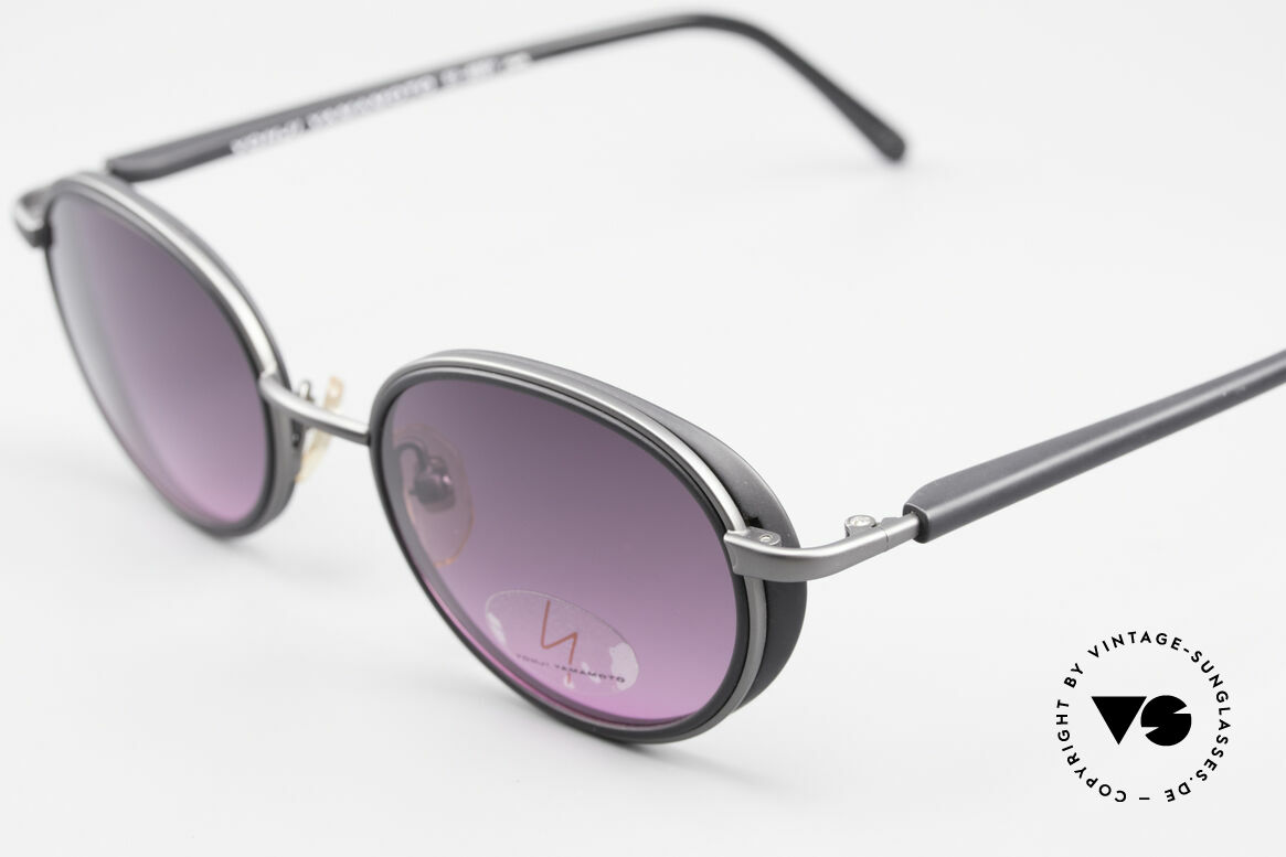"Yohji Yamamoto 51-6201 Side Shields Sunglasses 90's, a vintage ""must-have"" for all lovers of quality and design, Made for Women"