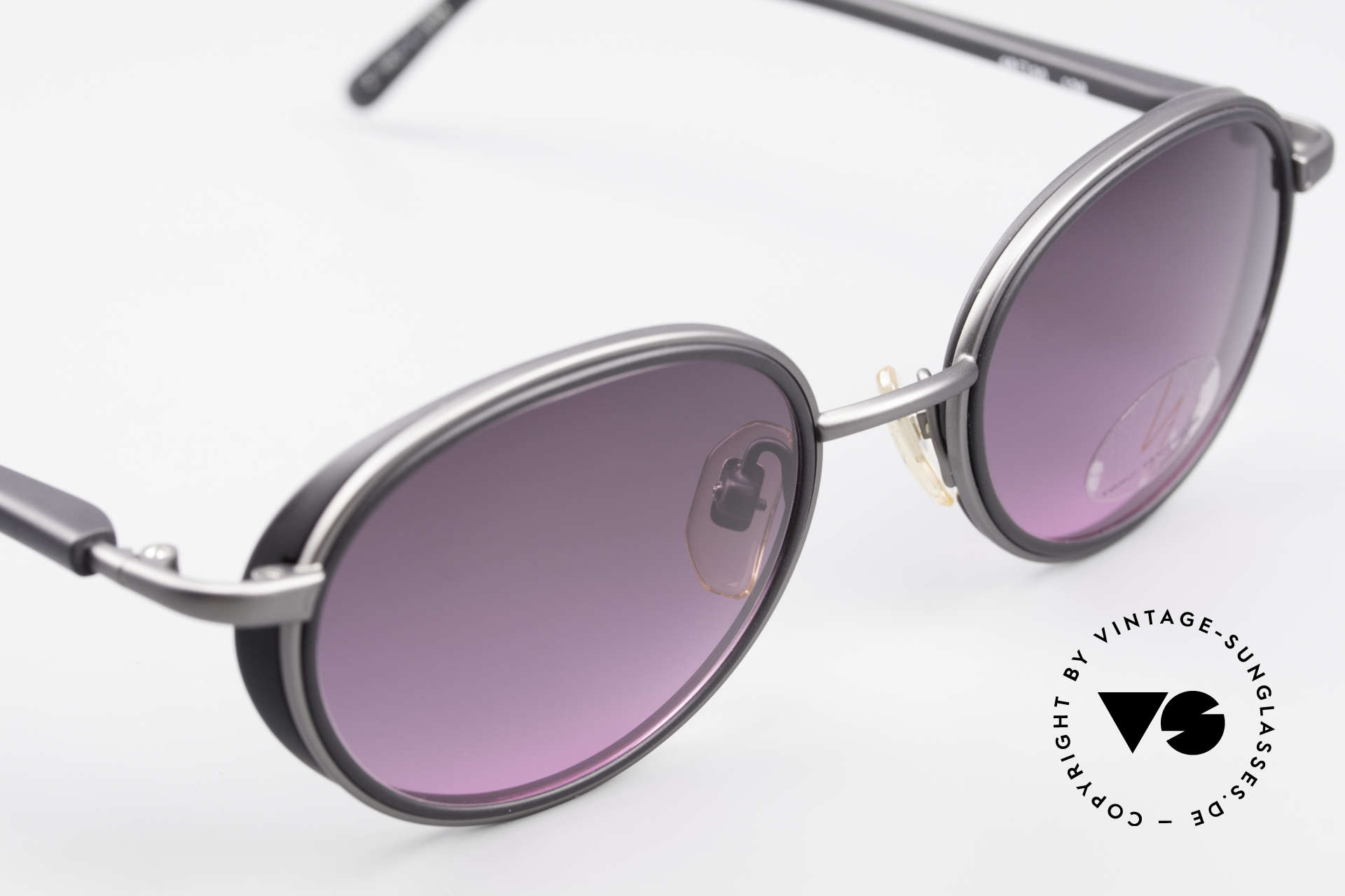 Yohji Yamamoto 51-6201 Side Shields Sunglasses 90's, unused (like all our Haute Couture designer sunglasses), Made for Women