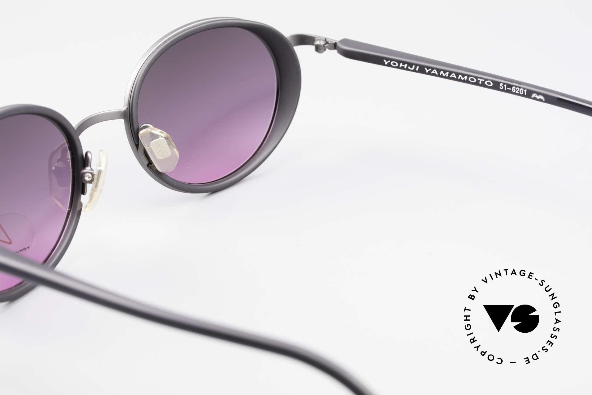 Yohji Yamamoto 51-6201 Side Shields Sunglasses 90's, Size: medium, Made for Women