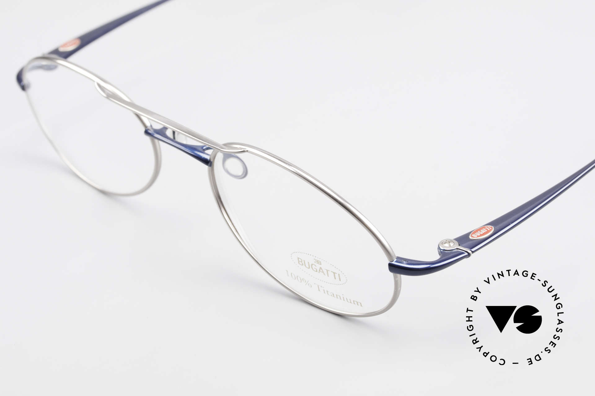 Bugatti 19239 Titanium Luxury Eyeglasses, this Bugatti frame is at the top of the eyewear sector, Made for Men
