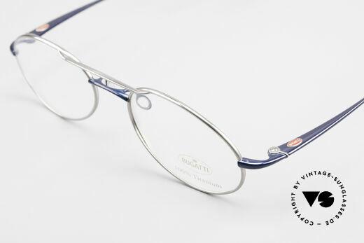 Bugatti 19239 Titanium Luxury Eyeglasses