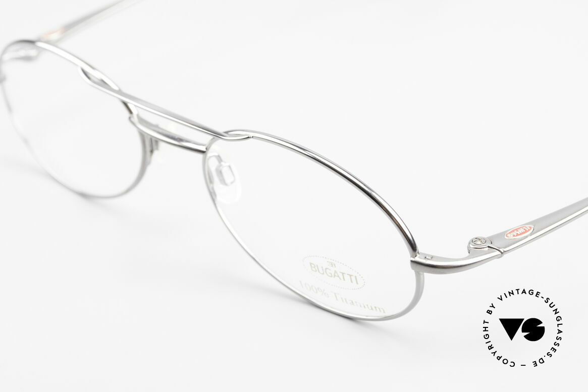 Bugatti 18861 Men's Titanium Eyeglasses, this Bugatti frame is at the top of the eyewear sector, Made for Men