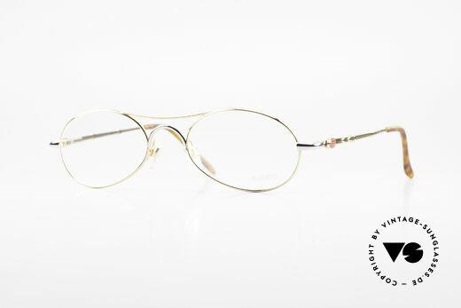 Bugatti 10608 90's Luxury Men's Eyeglasses Details