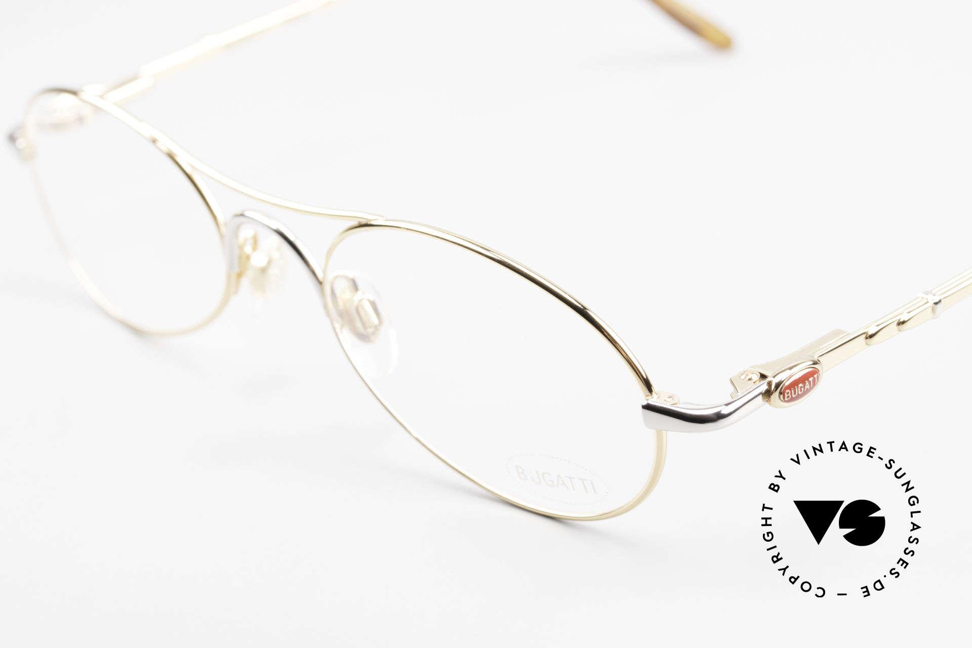Bugatti 10608 90's Luxury Men's Eyeglasses, unworn (like all our rare vintage Bugatti eyeglasses), Made for Men
