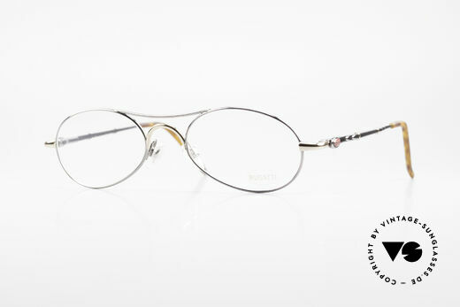 Bugatti 10692 Rare Luxury Men's Eyeglasses Details