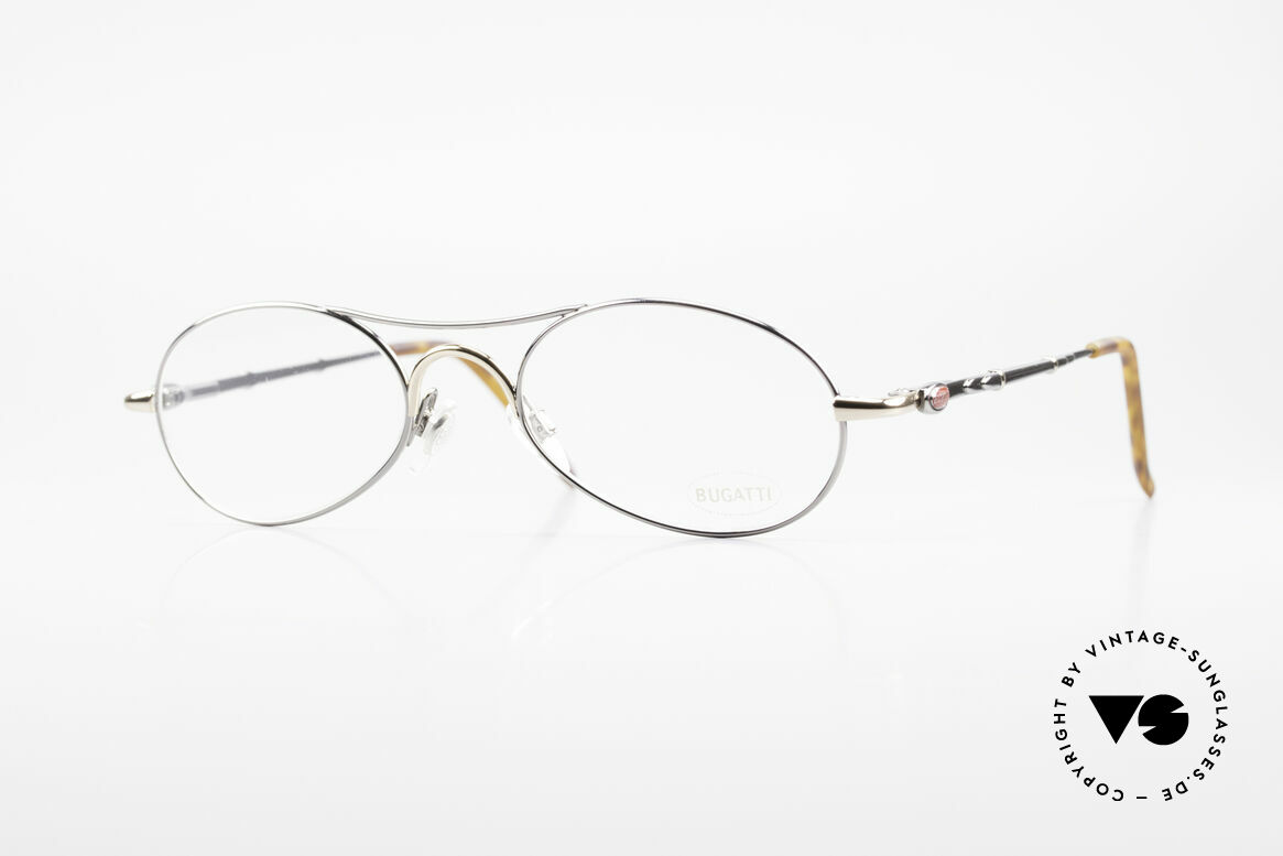 Bugatti 10692 Rare Luxury Men's Eyeglasses, very elegant vintage designer eyeglasses by Bugatti, Made for Men