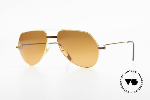 Cartier Vendome Laque - M Luxury Sunglasses Aviator Details