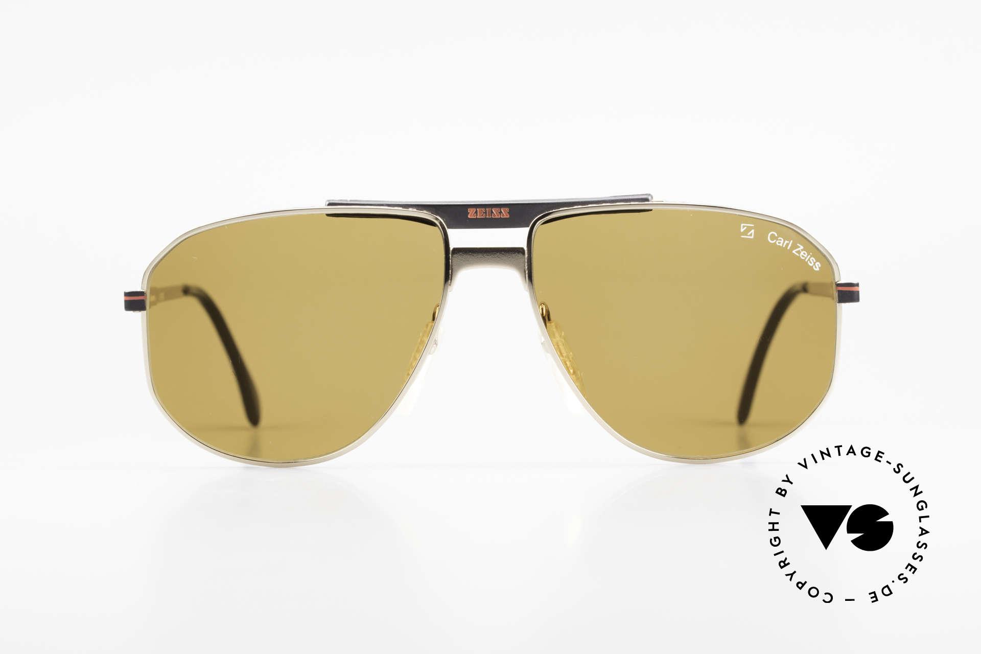 Zeiss 9934 90's True Vintage Sunglasses, non-reflecting sun lenses for 100% UV protection, Made for Men