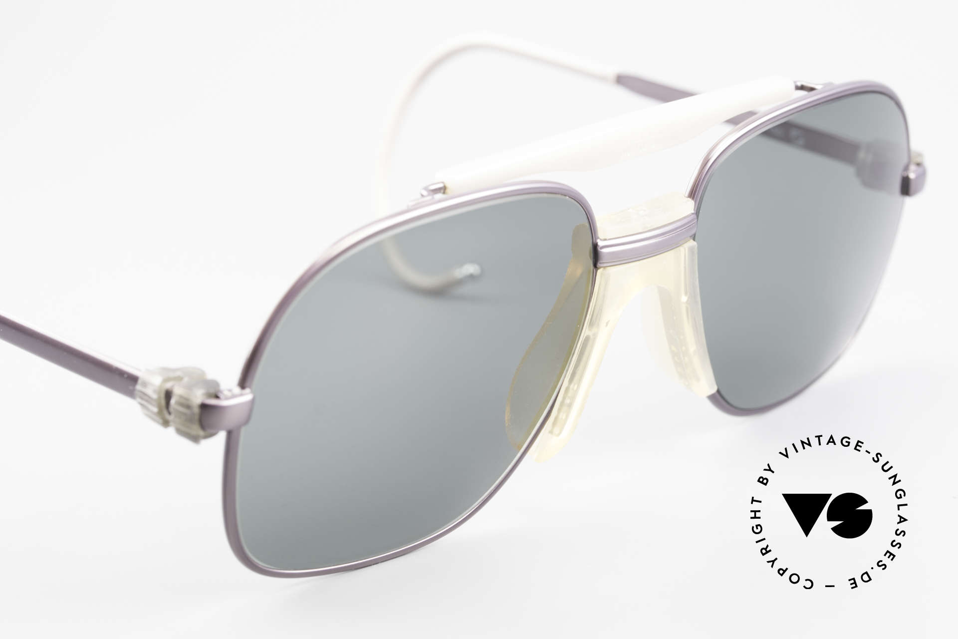 Zeiss 7037 Sports Sunglasses Old School, NO RETRO frame, but a rare old original from 1982!, Made for Men and Women