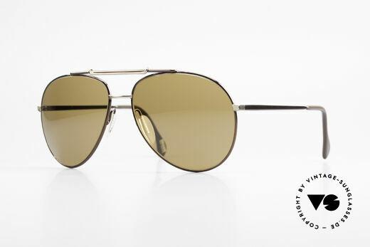 Zeiss 9323 80's Quality XL Sunglasses Details