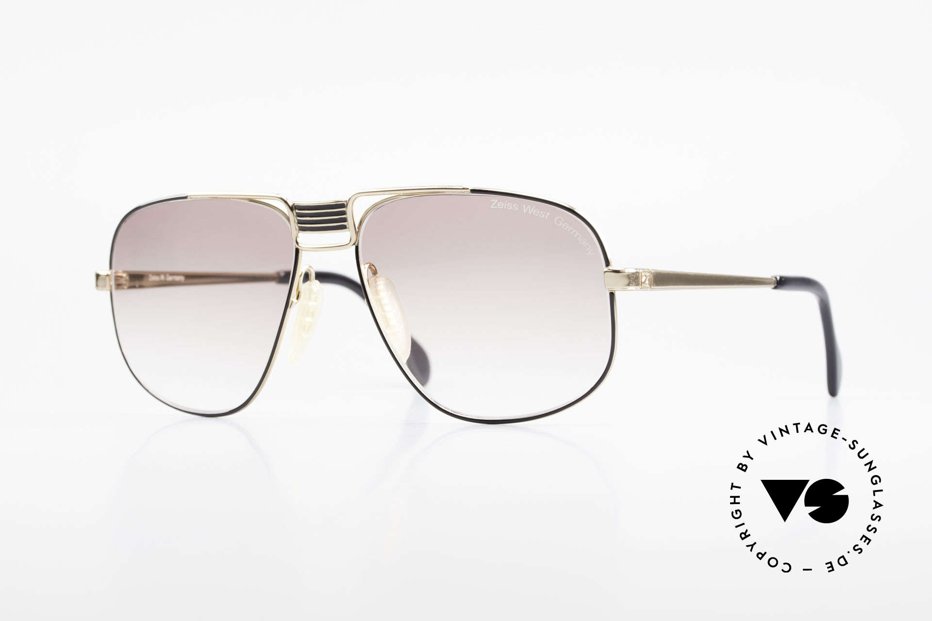 Zeiss 9387 X-Large 80's Men's Sunglasses, extraordinary 80's sunglasses by Zeiss, W.Germany, Made for Men