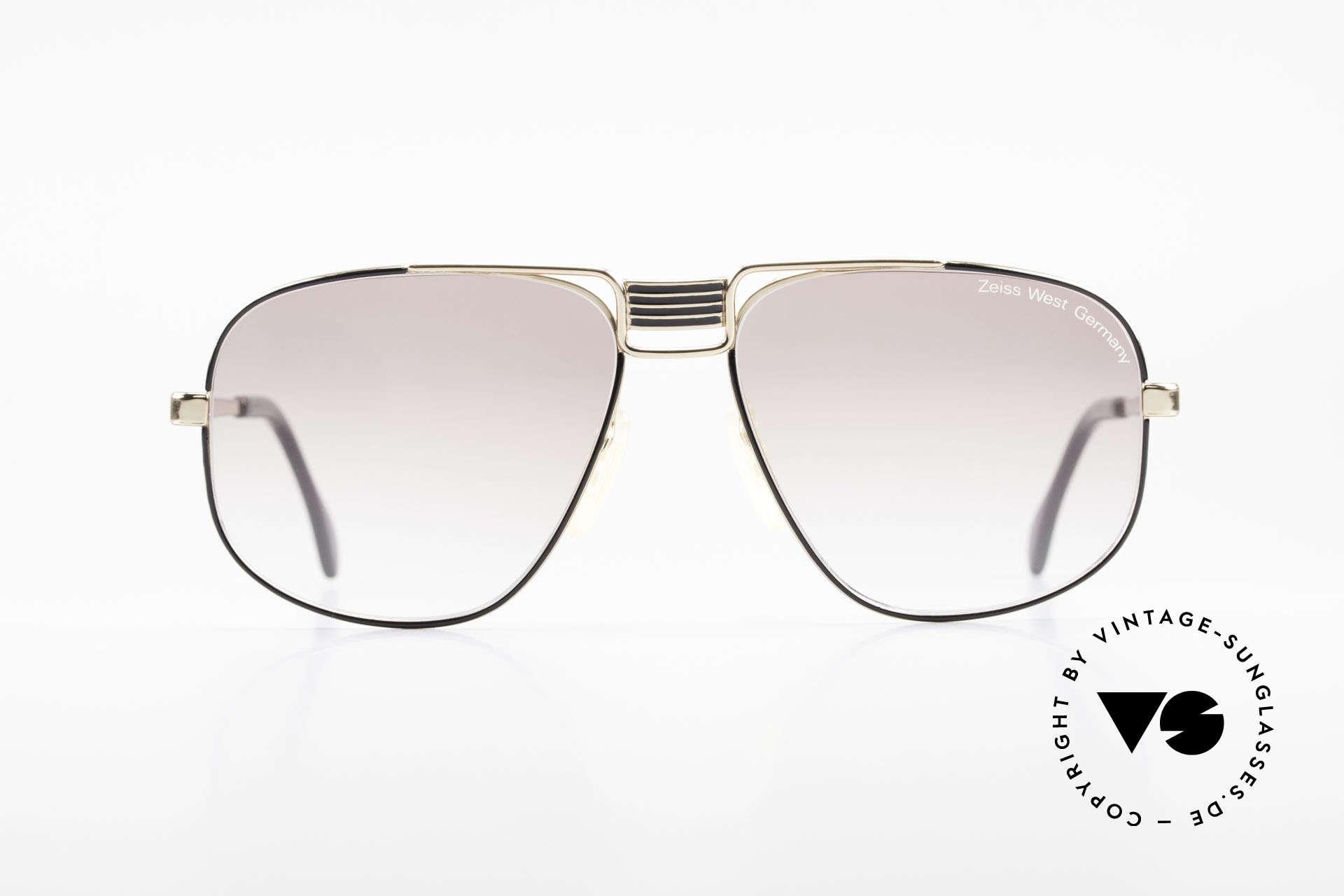 Zeiss 9387 X-Large 80's Men's Sunglasses, elegant frame construction in X-LARGE SIZE 60-16, Made for Men