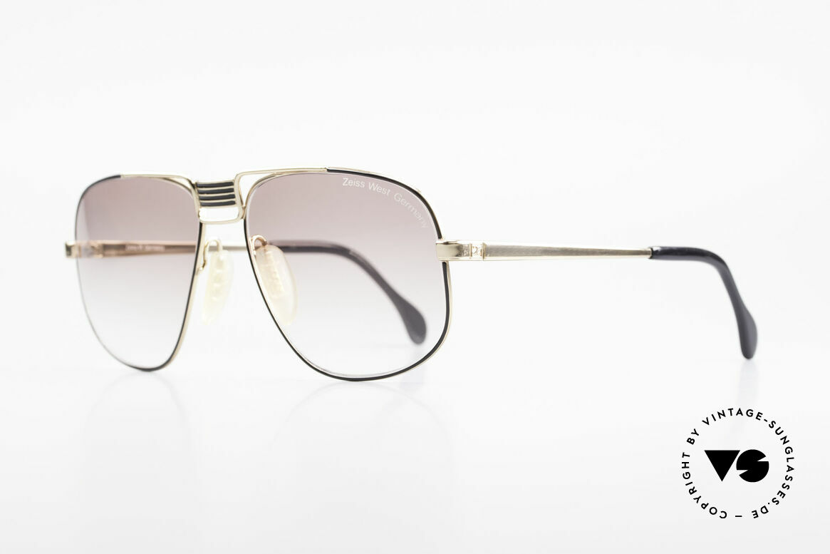Zeiss 9387 X-Large 80's Men's Sunglasses, world famous Zeiss WEST GERMANY premium quality, Made for Men