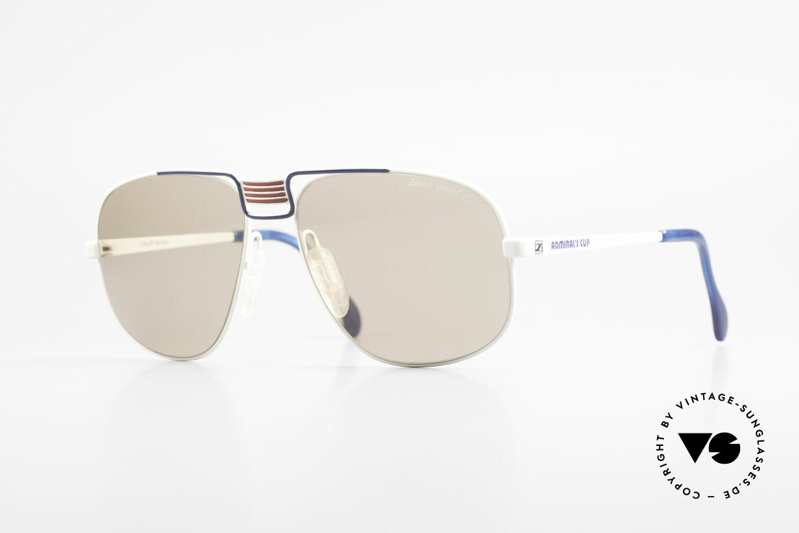 Zeiss 9387 Admiral's Cup Special Edition, extraordinary 80's sunglasses by Zeiss, W.Germany, Made for Men