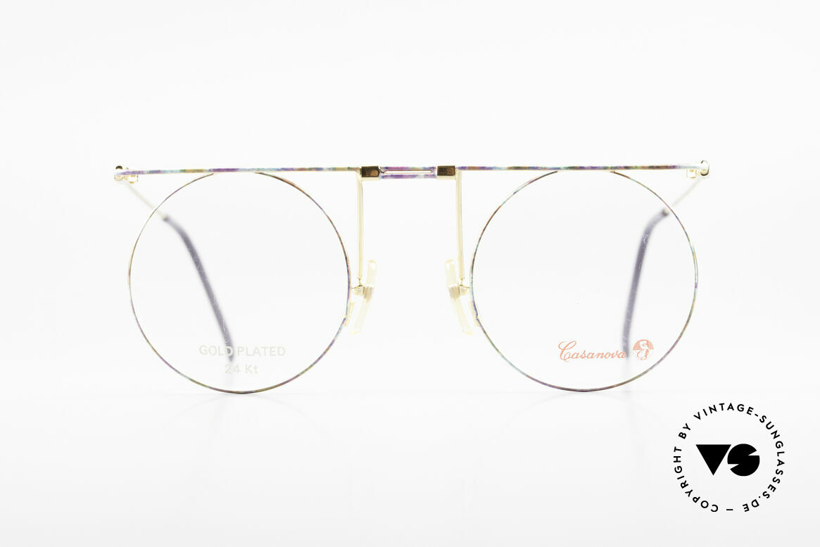 Casanova MTC 7 24Kt Gold Plated Frame, fantastic combination of color, shape & functionality, Made for Women