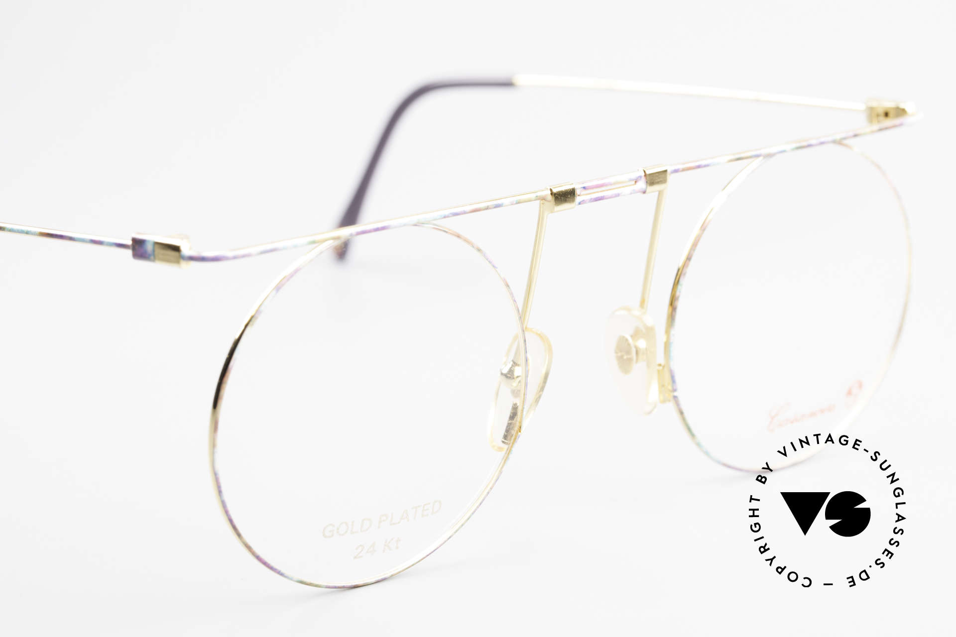 Casanova MTC 7 24Kt Gold Plated Frame, NO RETRO sunglasses, but a unique old 80's ORIGINAL, Made for Women