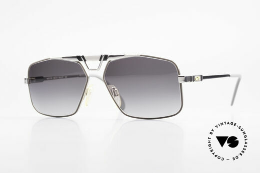 Cazal 735 Brad Pitt Sunglasses Vintage Details