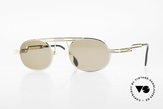 Cazal 762 Oval Vintage 90's Sunglasses Details