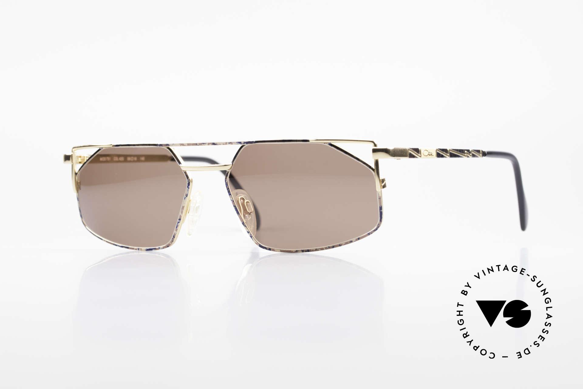 Cazal 751 Rare 90's Designer Sunglasses, RARE; top-notch sunglasses by CAZAL from 1993/94, Made for Men
