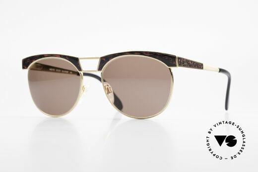 Cazal 741 Panto Style 90's Sunglasses Details
