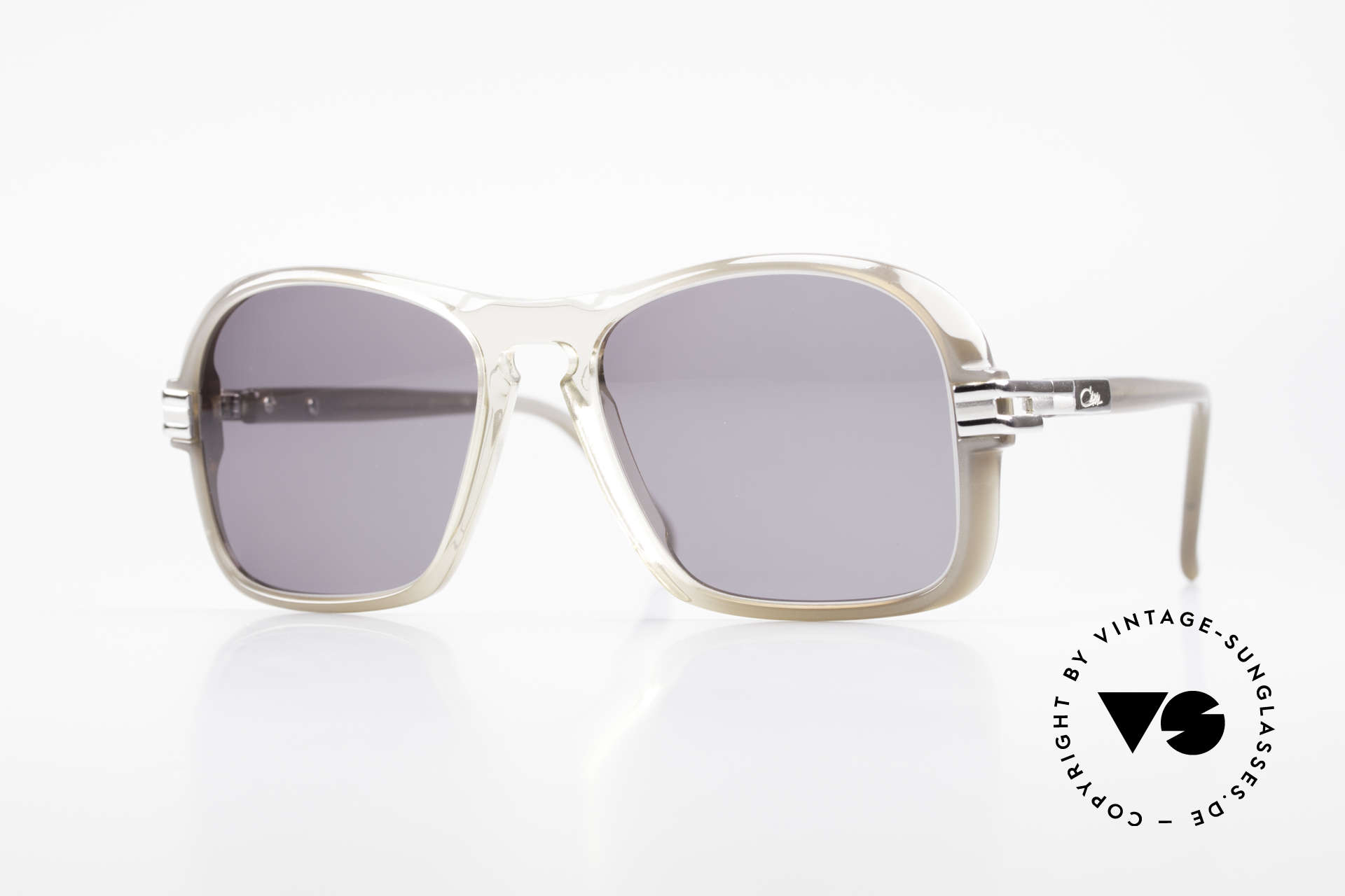 Cazal 606 70's Frame First Cazal Series, ultra rare vintage Cazal sunglasses from the late 1970's, Made for Men