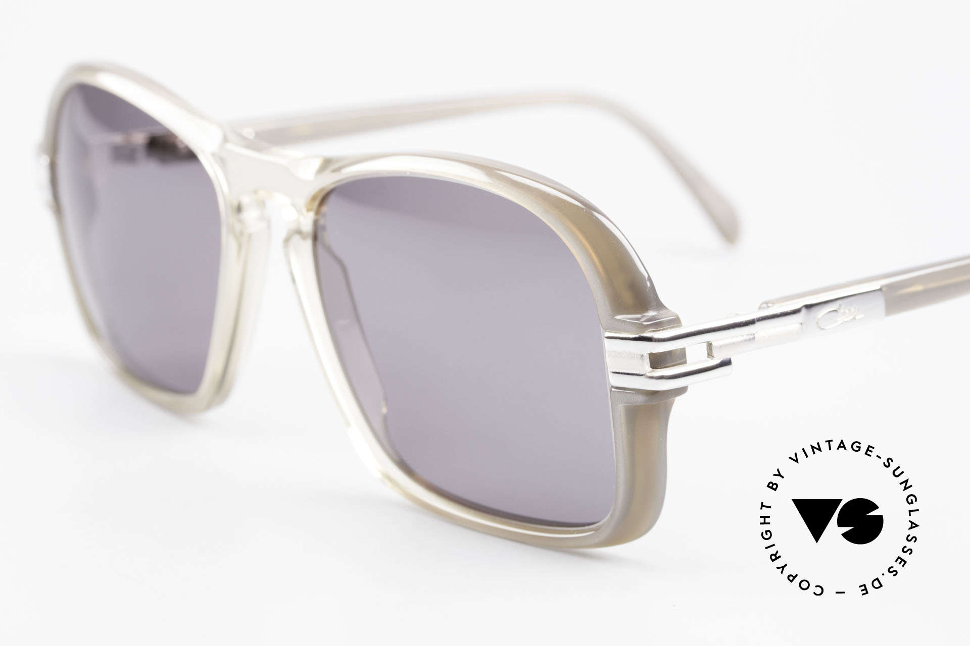 Cazal 606 70's Frame First Cazal Series, a piece of contemporary fashion history (museum piece), Made for Men
