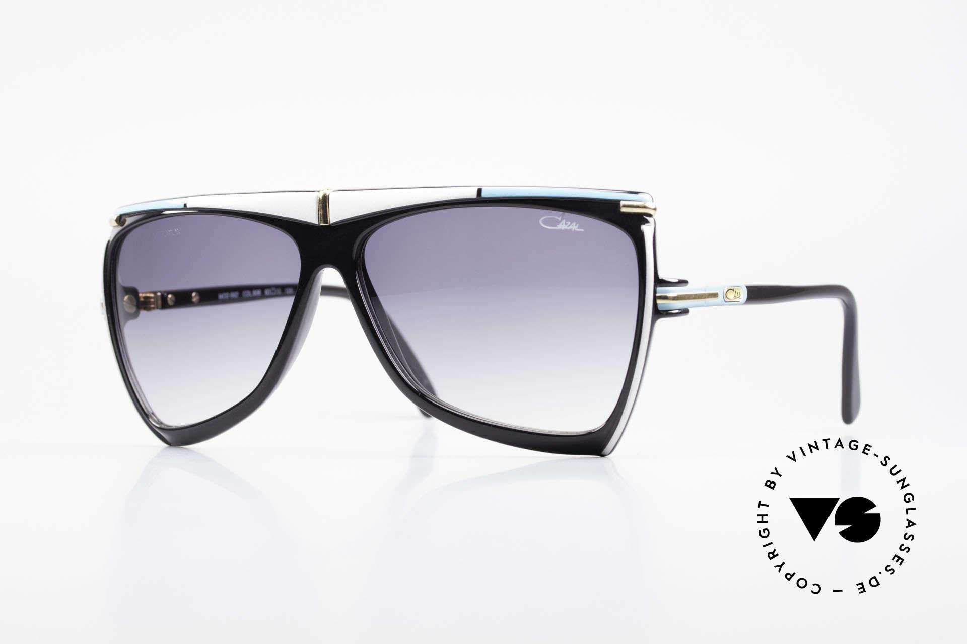 Cazal 862 West Germany Original Cazal, rare & fancy Cazal 80's designer sunglasses, Made for Men and Women