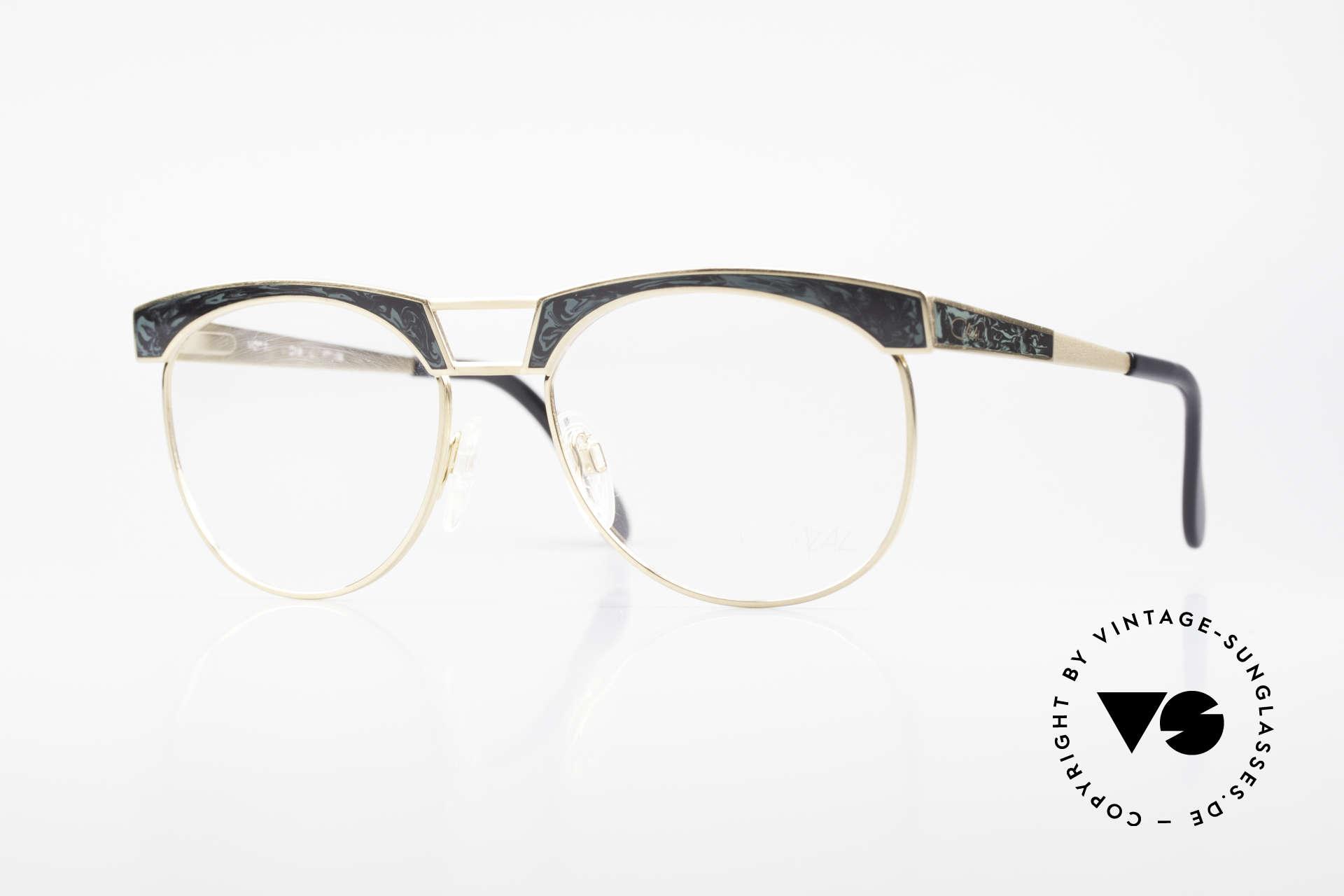 Cazal 741 Panto Style 90's Eyeglasses, luxury designer eyeglass-frame from the early 1990's, Made for Men