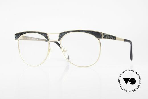 Cazal 741 Panto Style 90's Eyeglasses Details