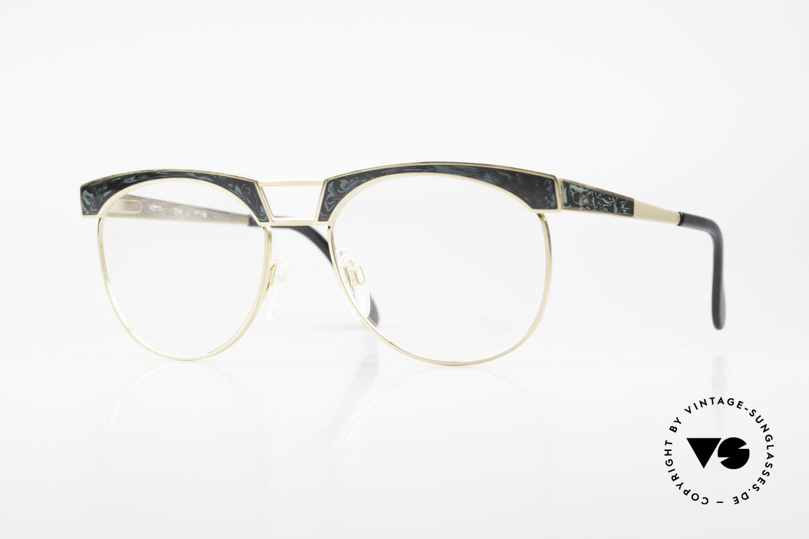 Cazal 741 Panto Style 90's Eyeglasses