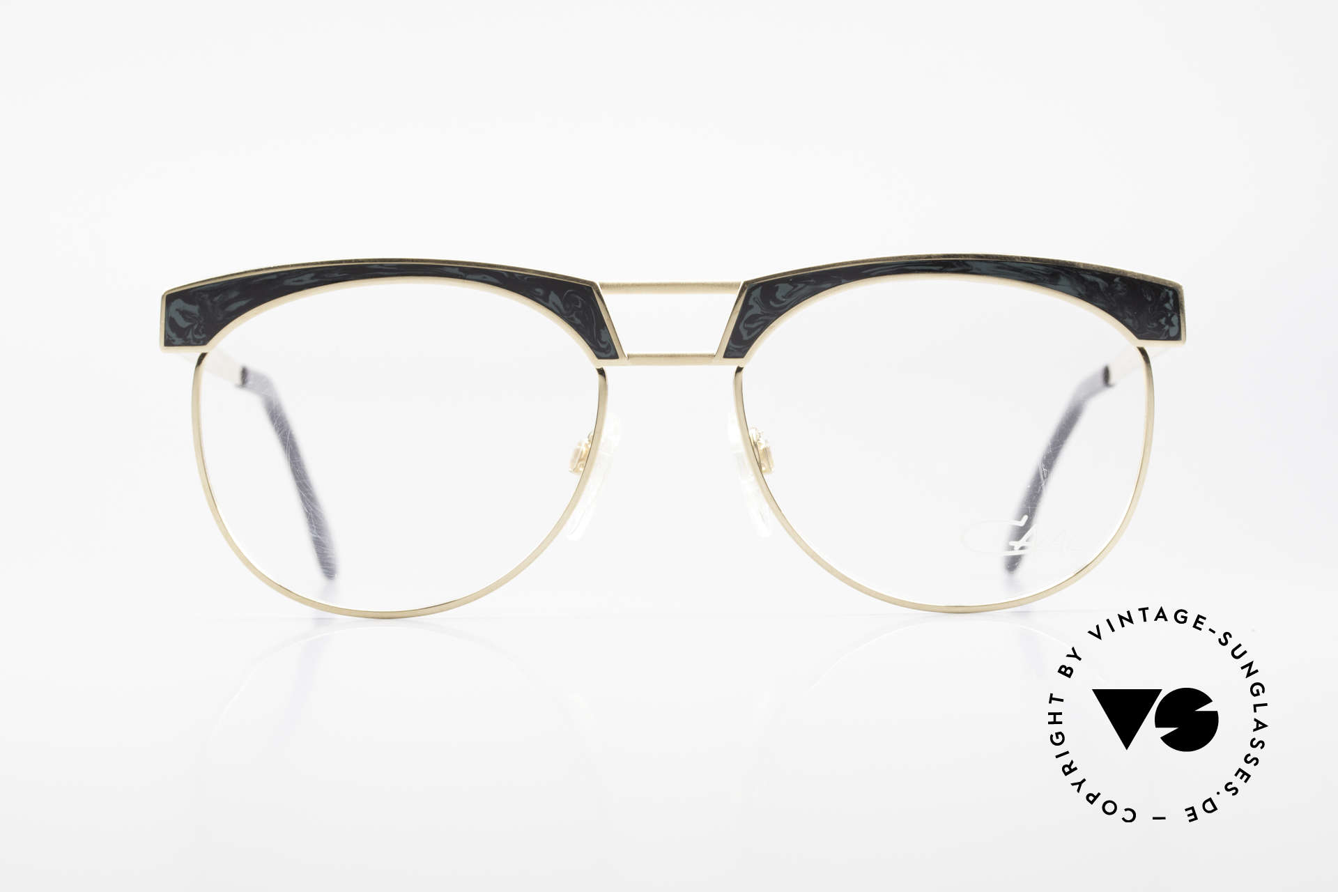 "Cazal 741 Panto Style 90's Eyeglasses, ""panto style"" interpreted by CAri ZALloni (Mr. CAZAL), Made for Men"