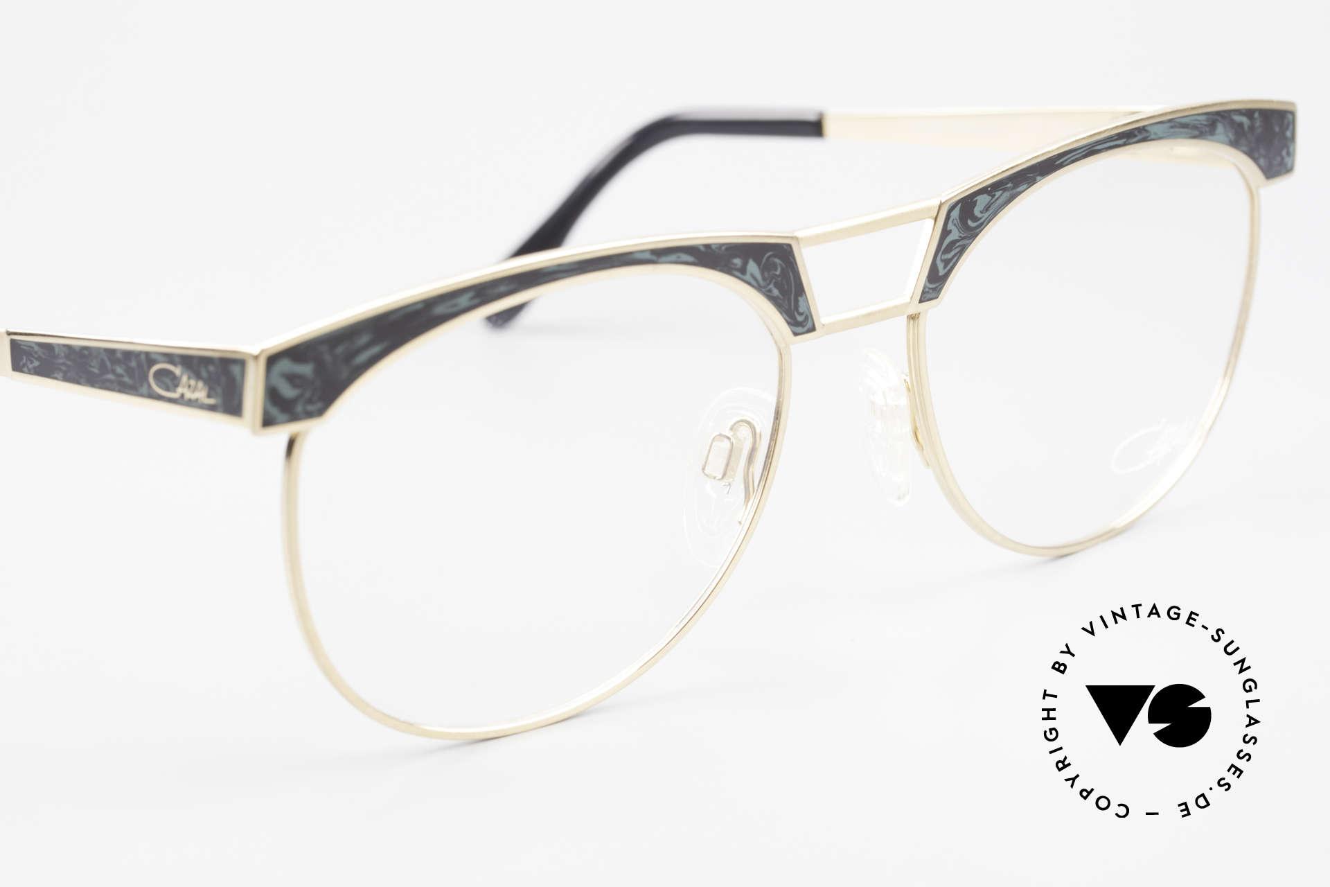 Cazal 741 Panto Style 90's Eyeglasses, unworn (like all our rare vintage eyeglasses by CAZAL), Made for Men