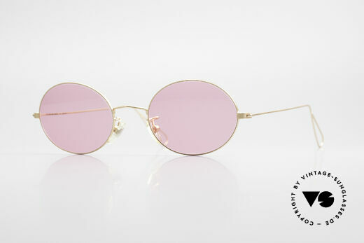 Cutler And Gross 0305 Oval Vintage 90's Sunglasses Details