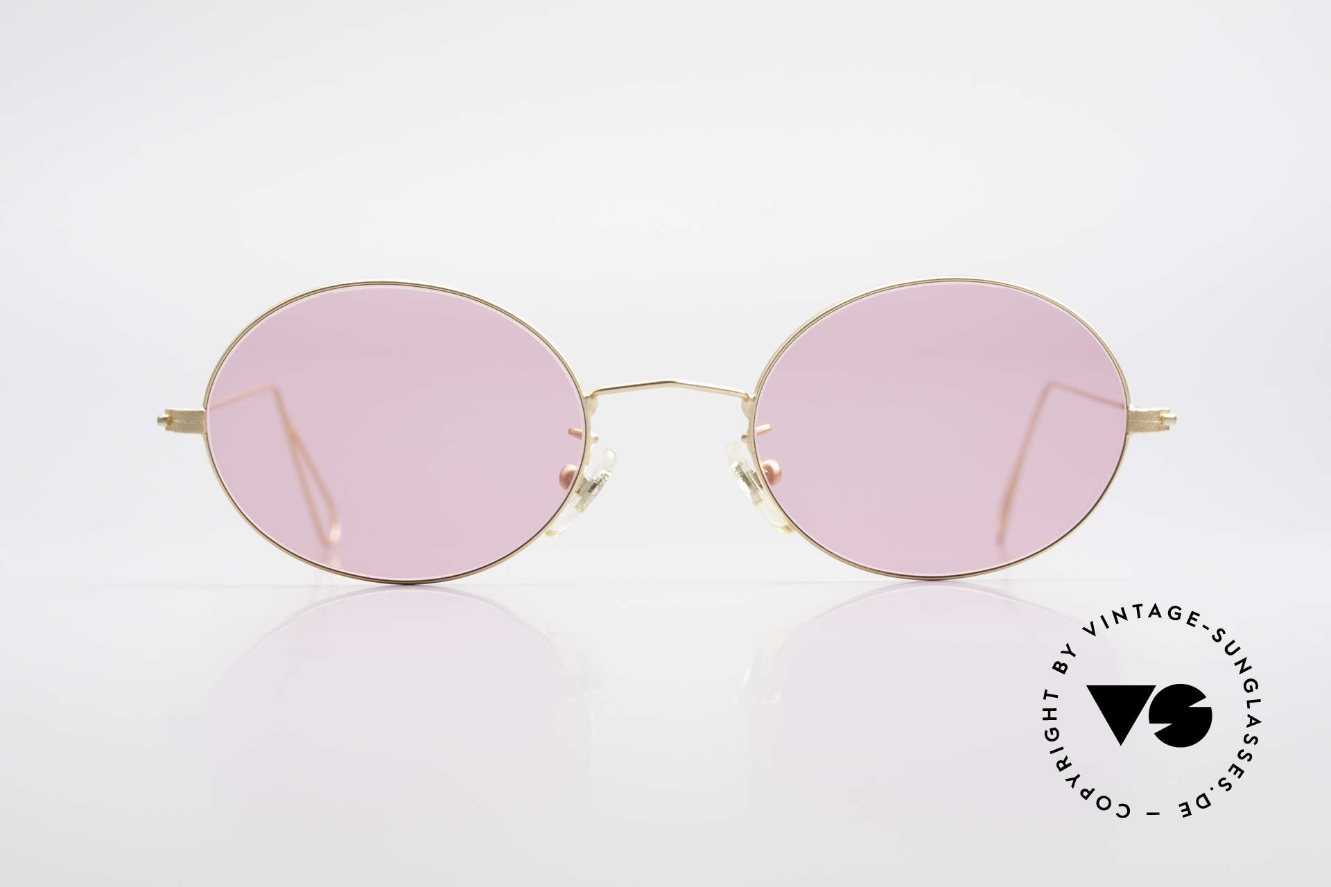 Cutler And Gross 0305 Oval Vintage 90's Sunglasses, classic, timeless UNDERSTATEMENT luxury sunglasses, Made for Men and Women