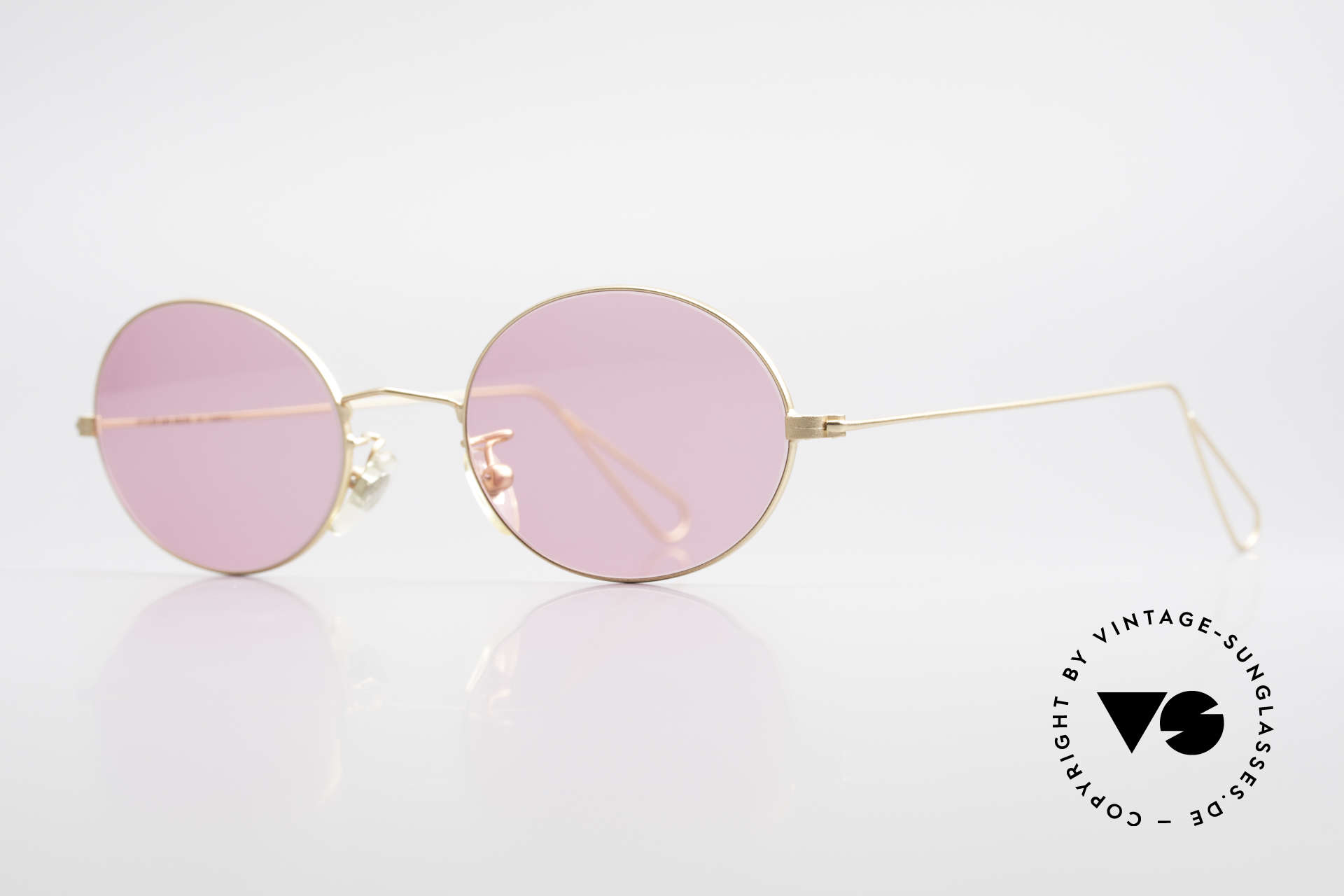 Cutler And Gross 0305 Oval Vintage 90's Sunglasses, stylish & distinctive in absence of an ostentatious logo, Made for Men and Women