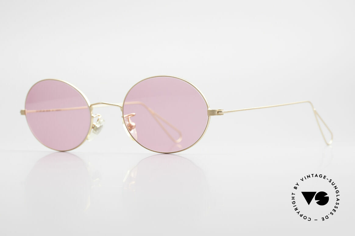 Cutler And Gross 0305 Oval Vintage 90's Sunglasses