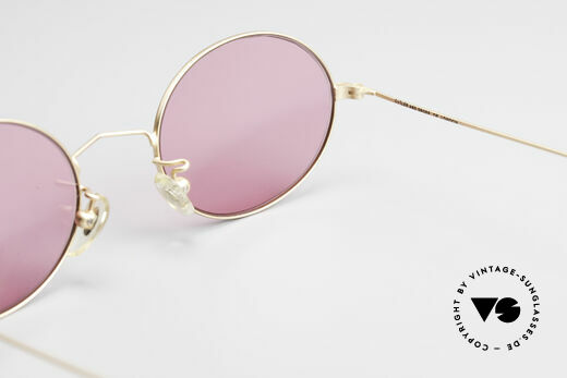 Cutler And Gross 0305 Oval Vintage 90's Sunglasses, the quality frame could be glazed with prescriptions too, Made for Men and Women