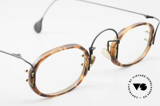 Paul Chiol 13 Designer Art Glasses Vintage, the frame can be glazed optionally (+ LOZZA case), Made for Men and Women