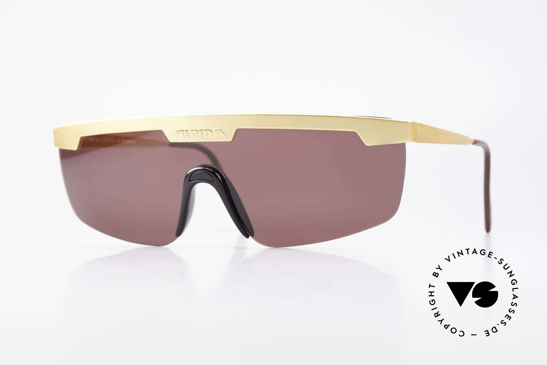 Alpina M57 Vintage Shades Panorama View, futuristic, but old designer shades by Alpina, Made for Men and Women