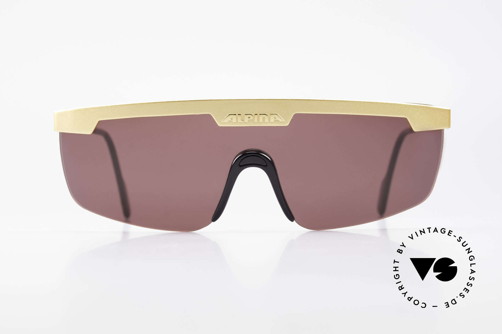Alpina M57 Vintage Shades Panorama View, one single shade for a perfect panorama view, Made for Men and Women