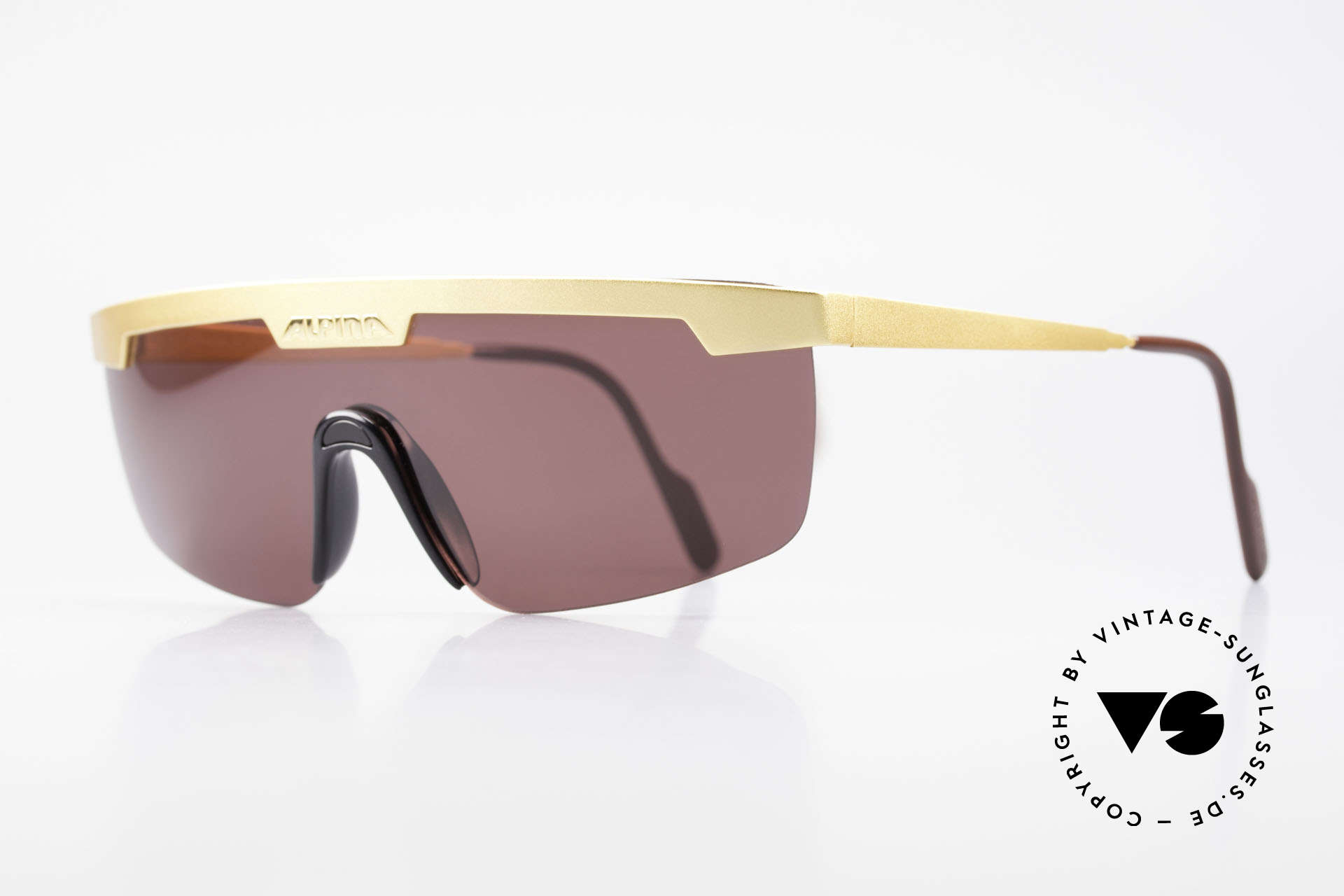 Alpina M57 Vintage Shades Panorama View, best 'W.Germany' quality & pleasantly to wear, Made for Men and Women