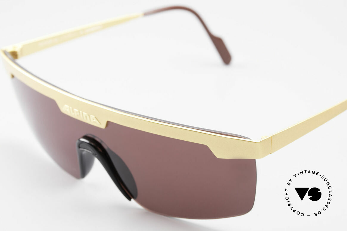 Alpina M57 Vintage Shades Panorama View, NO RETRO glasses; a rare ORIGINAL from 1989, Made for Men and Women