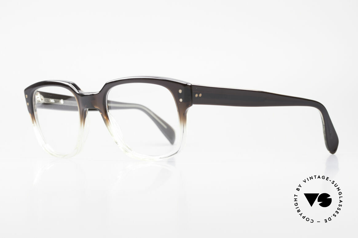 Metzler 447 Vintage Glasses Nerd Hipster, great optic: the material changes from brown to clear, Made for Men