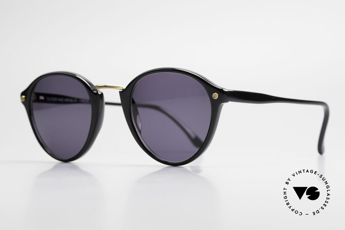 Cutler And Gross 0249 90's Panto Sunglasses Vintage, stylish & distinctive in absence of an ostentatious logo, Made for Men and Women